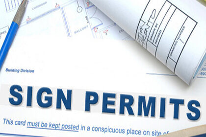 We help obtain business sign permits and install them according to municipal codes in Los Angeles